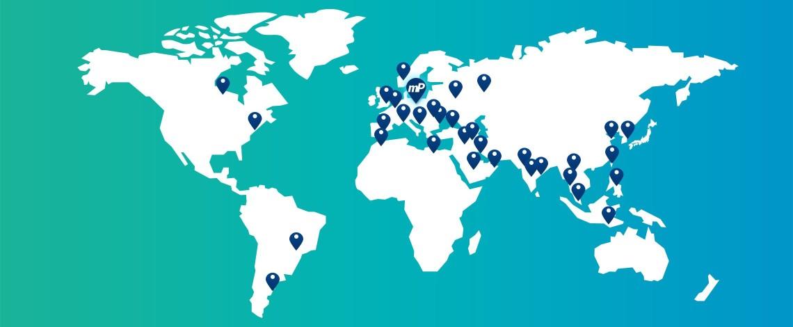 membraPure Standorte und Distributoren